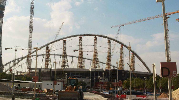 Le Khalifa Stadium rénové à Doha (novembre 2014)