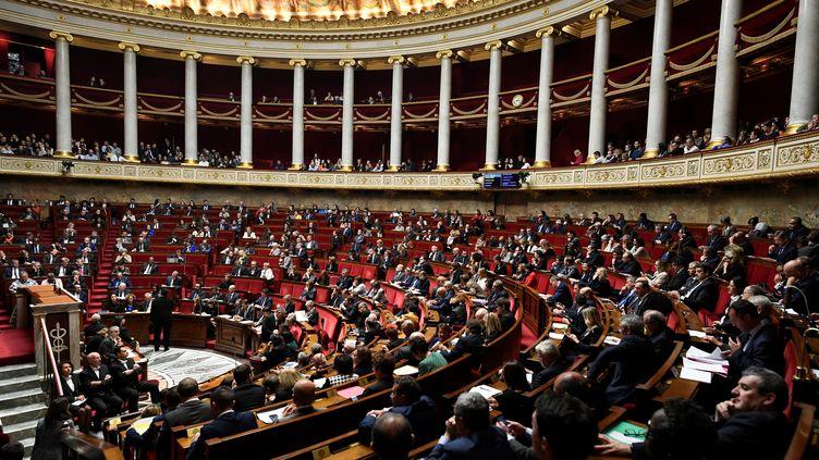 L'Assemblée nationale à Paris, le 31 octobre 2017. (LIONEL BONAVENTURE / AFP)