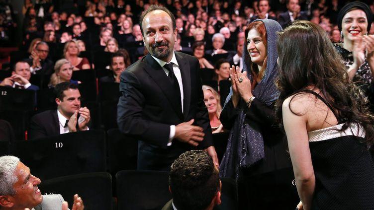 Asghar Farhadi à Cannes en 2016  (SEBASTIEN NOGIER/EFE/Newscom/MaxPPP)