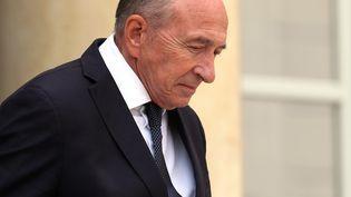 Gérard Collomb au palais de l'Elysée à Paris, le 31 août 2018. (MUSTAFA YALCIN / AFP)