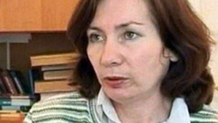 Natalia Estemirova, militante des droits de l'homme, assassinée le 15 juillet 2009 en Russie (© France 2)