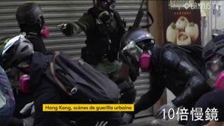 Le policier qu a tiré à balles réelles sur un manifestant filmé (FRANCEINFO)