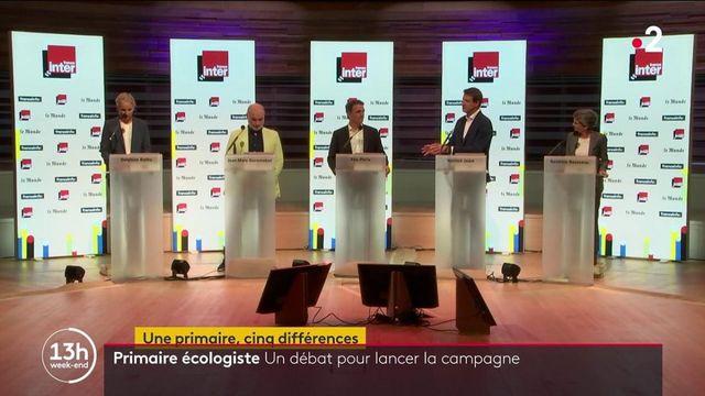 Primaire écologiste : cinq candidats pour une place de candidat à la présidentielle