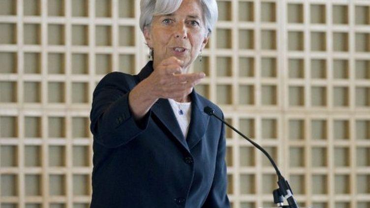 Christine Lagarde à Paris le 25 mai 2011 (AFP - Bertrand Langlois)