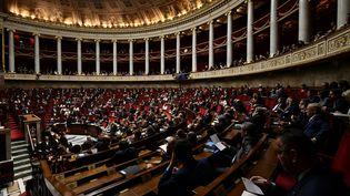 L'Assemblée nationale, le 26 septembre 2018. (PHILIPPE LOPEZ / AFP)