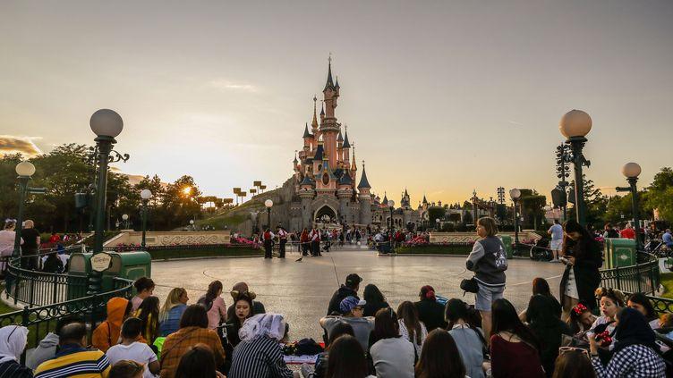 Le parc Disneyland Paris, le 21 juin 2019, à Marne-la-Vallée (Seine-et-Marne). (VANESSA CARVALHO / REX / SIPA)