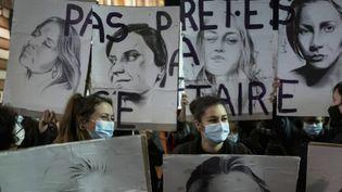 Manifestation contre les violences faites aux femmes (FRANCE 2)