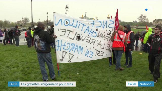SNCF : les grévistes s'organisent pour tenir