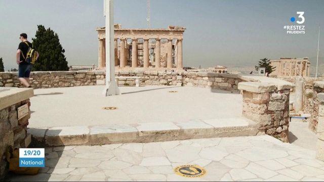 Europe : la Grèce et l'Italie voient le retour des touristes