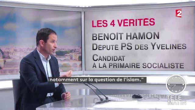 Manuel Valls, la cible préférée de Benoît Hamon