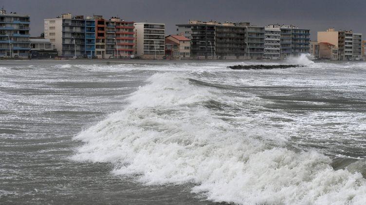 La plage de Palavas-les-Flots (Hérault), jeudi 13 octobre 2016. (PASCAL GUYOT / AFP)