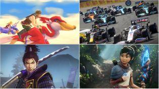 """""""The Legend of Zelda : Skyward Sword"""", """"F1 2021"""", """"Samurai Warriors 5"""" et """"Kena : Bridge of Spirits"""" sont au programme des sorties jeux vidéo de l'été. (DR)"""