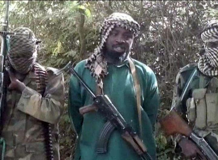 L'imam Shekau sur une capture d'écran d'une vidéo de Boko Haram. ( BOKO HARAM / AFP)