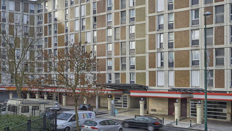 """L'immeuble où résidaient Tony, 3 ans, et son voisin jugé pour """"non dénonciation de mauvais traitements"""", à Nancy, le 8 décembre 2016. (SAUCOURT PATRICE / MAXPPP)"""