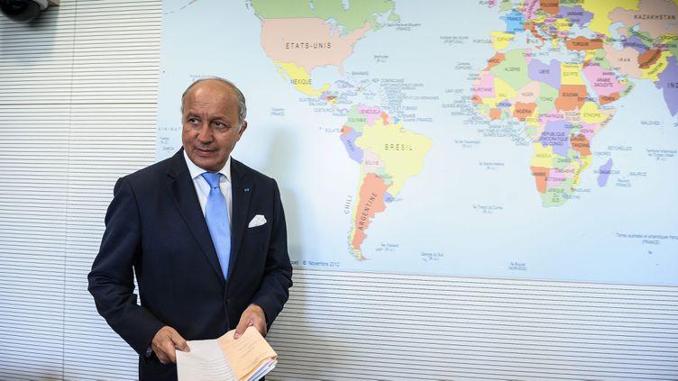 (Laurent Fabius était entendu ce mercredi devant la commission des Affaires étrangères de l'Assemblée nationale © MAXPPP)