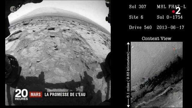 Espace : un lac souterrain sur la planète Mars