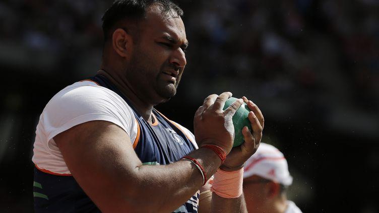 Inderjeet Singh (ADRIAN DENNIS / AFP)