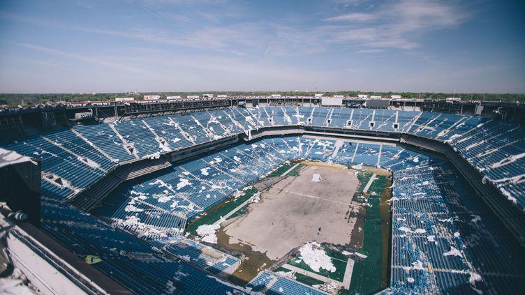 Le Silverdome de Detroit à l'abandon depuis la création du Ford Field de Detroit