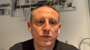Guillaume Roux. (Capture d'écran franceinfo)