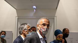Tariq Ramadan au tribunal correctionnel de Paris, le 9 septembre 2020 (AURELIEN MORISSARD / MAXPPP)