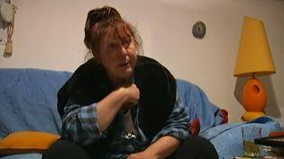 Marie-Claude Ohran, mère du tueur présumé d'Istres. (FRANCE 2 / FRANCETV INFO)