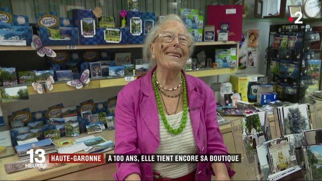 Haute-Garonne : à 100 ans, elle tient encore sa boutique