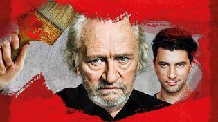 """Niels Arestrup et Alexis Moncorgé tiennent les premiers rôlesdans """"Rouge"""". (Théâtre Montparnasse)"""