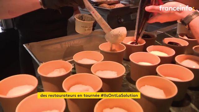 En Moselle et en Bourgogne-Franche-Comté, des restaurateurs sortent de leur cuisine pour partir en tournée solidaire