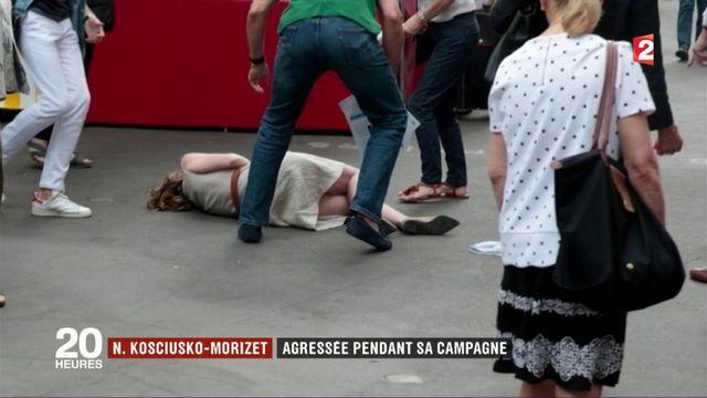 Nathalie Kosciusko-Morizet agressée pendant sa campagne