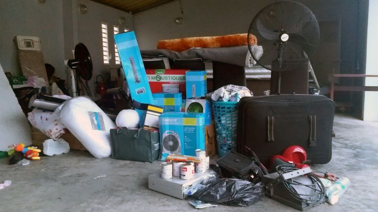 Quelque 80 m3 de matériel ont été récupérés par les gendarmes. (Thibault Lefèvre - Radio France)