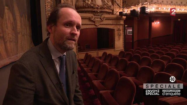 Attentats de Paris. Jean-Marc Dumontet. Théâtre Antoine