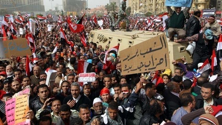 Rassemblement place Tahrir au Caire (archives, 25 février 2011) (AFP / Khaled Desouki)