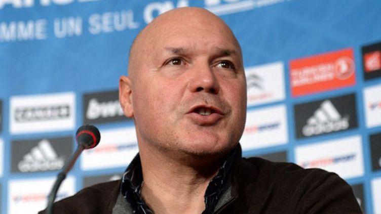 L'entraîneur de l'OM José Anigo