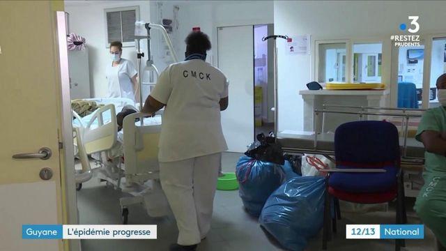 Guyane : l'épidémie progresse