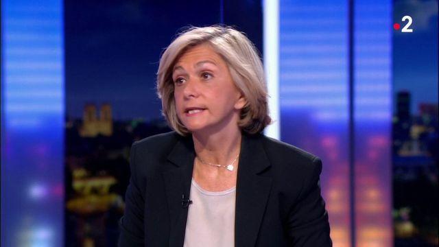 Valérie Pécresse annonce son départ des Républicains sur France 2