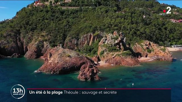 Tourisme : la plage de Théoule, un trésor caché