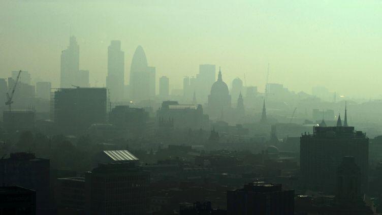Pollution à Londres (CARL DE SOUZA / AFP)