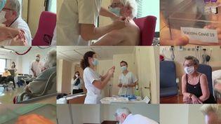 Covid-19 : les vaccinodromes auront-ils assez de personnel ? (France 2)