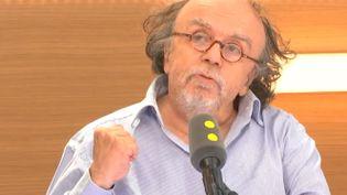 Jean-Michel Ribes, en juin 2017. (FRANCEINFO / RADIO FRANCE)