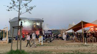 Le festival Bon Moment, à la prairie de la Méchelle de Nancy, en juillet 2021. (LÉO LIMON / RADIO FRANCE)