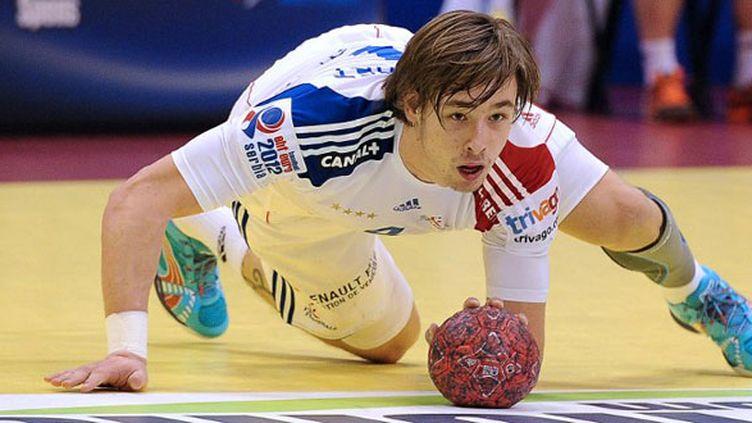 Le handballeur français Xavier Barachet