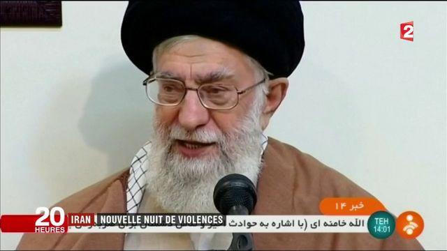 Iran : nouvelle nuit de violences