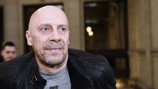 Alain Soral au Palais de Justice de Paris le 12 mars 2015  (Loïc Venance / AFP)