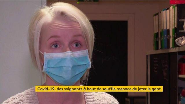 Coronavirus : des soignants prêts à jeter l'éponge