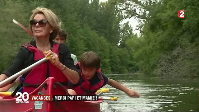 Vacances : quand les grands-parents prennent le relai