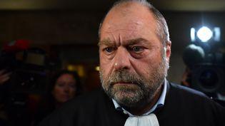 L'avocat de Georges Tron, ÉricDupond-Moretti. (GERARD JULIEN / AFP)