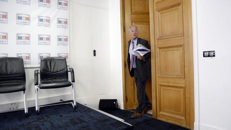 Le député du Val-de-Marne Gilles Carrez, le 25 juin 2013 à l'Assemblée nationale, à Paris. (MARTIN BUREAU / AFP)