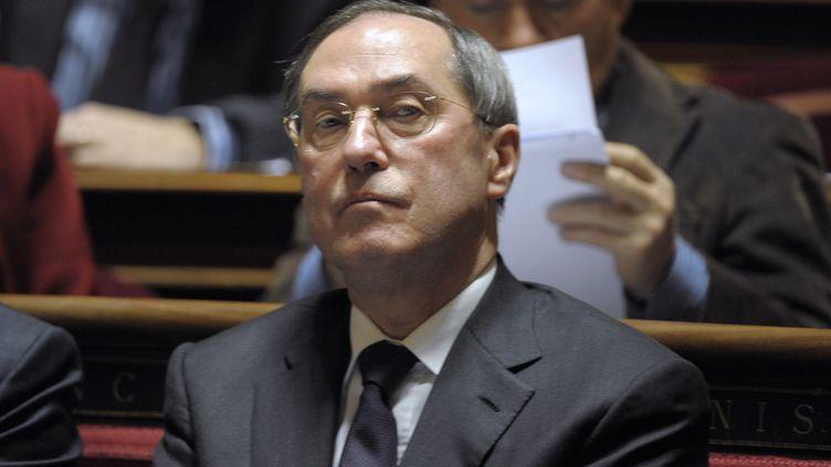 Le ministre de l'Intérieur Claude Guéant à l'Assemblée nationale (Paris), le 8 décembre 2011. (BERTRAND GUAY / AFP)