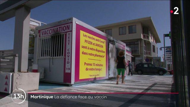 Martinique : pourquoi une telle défiance envers les vaccins anti-Covid ?