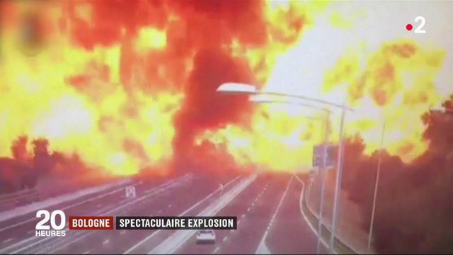 Bologne : un mort et 68 blessés dans une spectaculaire explosion